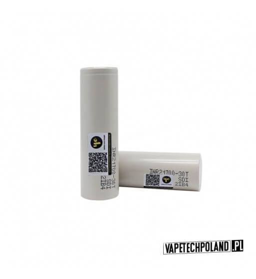 Akumulator Samsung 30T 21700 3000MAH ORYGINALNY akumulator 21700 Li-ion Samsung INR21700-30T, pojemność3000mAh. 1