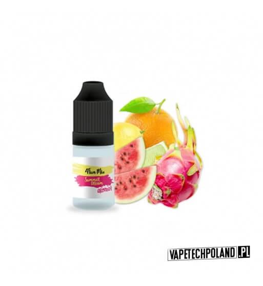 Aromat 4FUN MIX 10ml - Summer Dream Aromat o smaku pomarańczy-cytryny-arbuza-limonki-smoczego owocu. Pojemność : 10ML 1