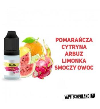 Aromat 4FUN MIX 10ml - Summer Dream Aromat o smaku pomarańczy-cytryny-arbuza-limonki-smoczego owocu. Pojemność : 10ML 2