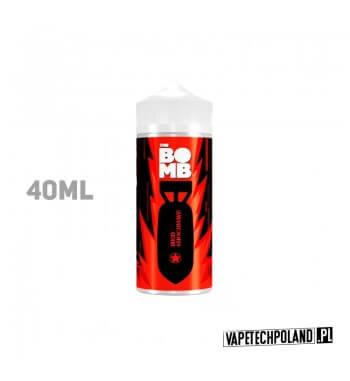 Premix THE BOMB - Red Shockwave 40ML Premix o smaku grejpfruta z arbuzem. 40ml płynu w butelce o pojemności 60ml. Produkt Shake