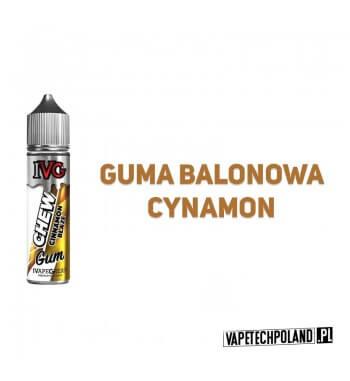 Premix IVG CHEW - Cinnamon Blaze 50ML Premix najwyższej jakości od IVG o smaku słodko-ostrego cynamonu z gumą balonową. 50ml pł