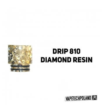 Drip Tip / Ustnik 810 - Diamond Resign Do ustnika pasująnp. Eleaf Ijust 3 / ECM Zestaw / Smok Stick Prince / P25np. Smok