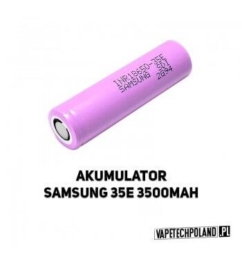 AKUMULATOR SAMSUNG 35E 18650 3500MAH 8A Oryginalny akumulator Samsung 35E 3500MAH (18650). 2