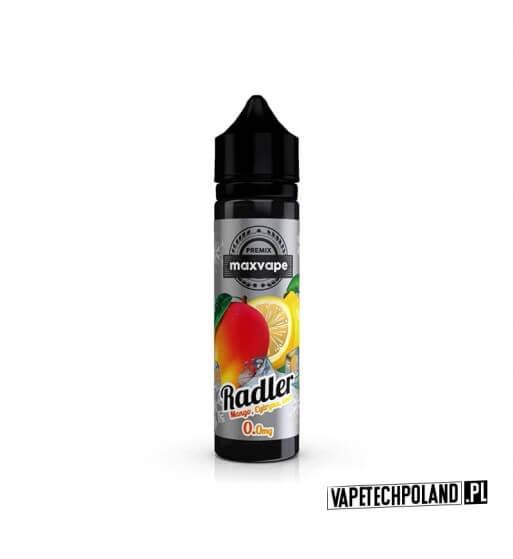 Premix RADLER 40ml - Mango&Cytryna&Koolada Premix o smakumango z cytryną i kooladą. 40ml płynu w butelce o pojemności 60ml.P