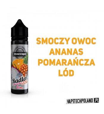 Premix RADLER 40ml - Smoczy Owoc&Ananas&Pomarańcza&Koolada Premix o smaku smoczego owocu, ananasa, pomarańczyoraz koolady. 40m