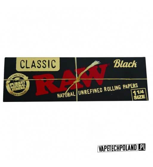 Bibułka RAW 1 1/4 Black Bibułki RAW 1 1/4 Black to najcieńsze niebielone bibułki od RAW. Dzięki jej super cienkości jest prakty