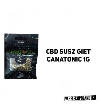 Susz Giet 1g - Canatonic Krzyżówka samicy MK Ultra i słynnego samca G13 Haze. Jest onjednym z najlepszych szczepów medycznych