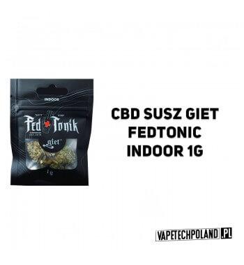 Susz Giet 1g - Fedtonic Indoor Susz Fedtonic Indoor to połączenie smakumelona oraz miodu. W związku z misterną pielęgnacją kwi