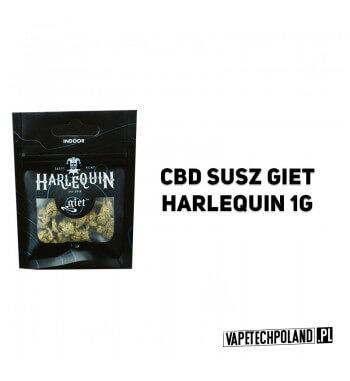 Susz Giet 1g - Harlequin UPRAWIANY W ZAMKNIĘTYM POMIESZCZENIU, CZYLI METODĄ INDOOR. SUSZ HARLEQUIN WYRÓŻNIA JEGO JASNOZIELONY K