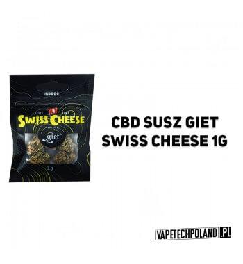 Susz Giet 1g - Swiss Cheese SWISS CHEESE JEST WYNIKIEM SWISS SKUNK I ODMIANY POCHODZĄCEJ Z NEPALU. DOMINUJĄCA W SZCZEPIE INDICA