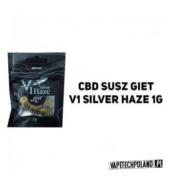Susz Giet 1g - V1 Silver Haze V1 Silver Haze to oparta na sativie krzyżówka pomiędzy Haze i Skunk nr 1. Ma skunksowy smak, z do