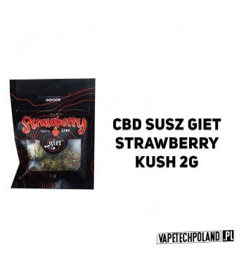 Susz Giet 2g - Strawberry Susz Strawberry, wersja uprawiana w zamknietym pomieszczeniu, czyli indoor. Susz Strawberry, nie bez