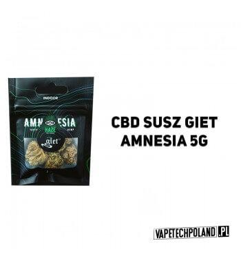 Susz Giet 5g - Amnesia Typowa dominująca odmiana sativa z pewnymi różnicami między hodowlami. Posiada ona w sobie wiele budując