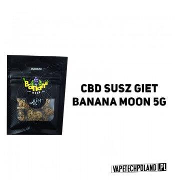Susz Giet 5g - Banana Moon Susz Banana Moon cieszy się uznaniem wśród pasjonatów suszy smakowych. Bardzo owocowa, z bogatym pro