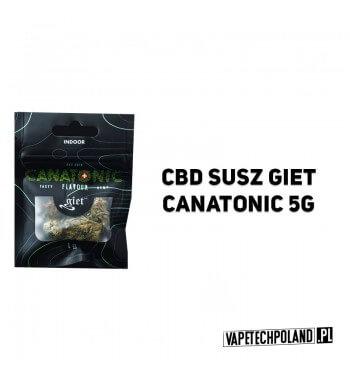 Susz Giet 5g - Canatonic Krzyżówka samicy MK Ultra i słynnego samca G13 Haze. Jest onjednym z najlepszych szczepów medycznych