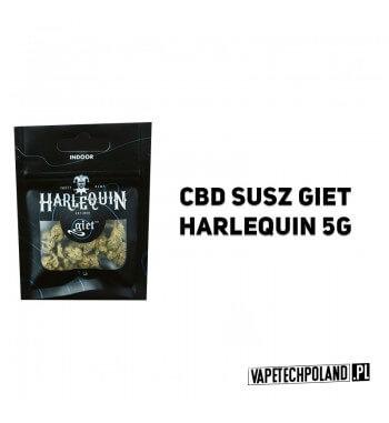 Susz Giet 5g - Harlequin UPRAWIANY W ZAMKNIĘTYM POMIESZCZENIU, CZYLI METODĄ INDOOR. SUSZ HARLEQUIN WYRÓŻNIA JEGO JASNOZIELONY K