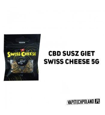 Susz Giet 5g - Swiss Cheese SWISS CHEESE JEST WYNIKIEM SWISS SKUNK I ODMIANY POCHODZĄCEJ Z NEPALU. DOMINUJĄCA W SZCZEPIE INDICA