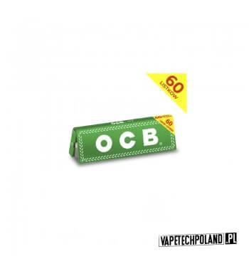 Bletki/Bibułki OCB NO. 8 CC Ultra-cienkie brązowe bibułki OCB Virgin Brown Slim wykonane z naturalnego, niebielonego papieru. W