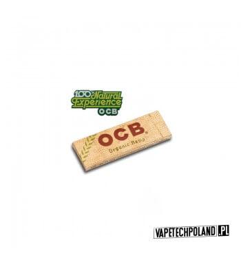 Bletki/Bibułki OCB Organic W 100% organiczne, w 100% ekologiczne takie są bibuły OCB Organic Hemp. Biubuły te wykonane są z kon