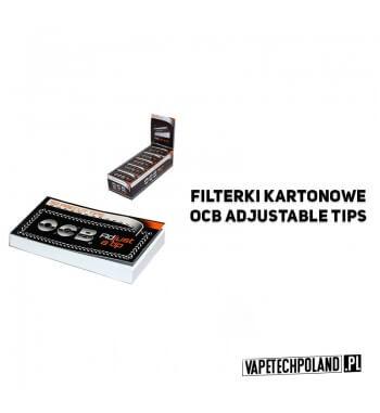 Filterki kartonowe - OCB Adjustable Kartonowe filterki OCB z performacją. Wymiary 25x48 mm / 22x48 mm. 2