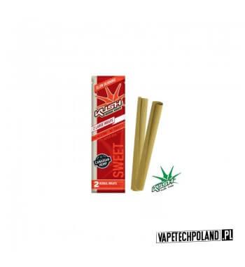 Kush Herbal Wraps x2 - Sweet Wolnopalące, aromatyzowane owijki papierosowe. Wykonane z kanadyjskich konopi.Zwinięte w specjalne