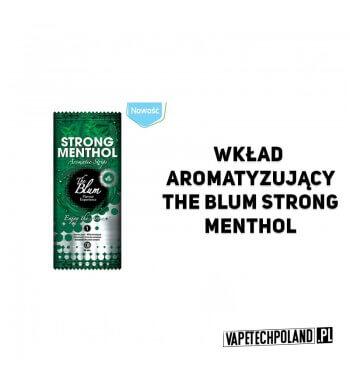 Wkład aroma. The Blum - Strong Menthol Inserty aromatyzujące The Blum.Aromat: Strong Menthol / Mocny Metol 2