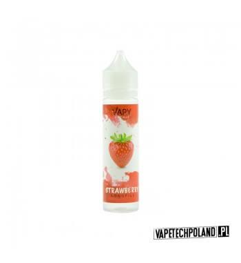 Premix/Longfill VAPY - Strawberry 20ml Premix o smaku truskawki. 20ml płynu w butelce o pojemności 60ml.Płyny typu Shake and