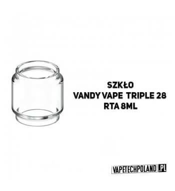 Pyrex Glass/Szkło BULB do Vandy Vape Triple 28 8ml Pyrex Glass/Szkło do Vandy Vape Triple 28 8ml. W zestawie znajduję się jedna