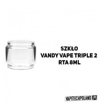Pyrex Glass/Szkło BULB do Vandy Vape Triple 2 RTA 8ml Pyrex Glass/Szkło do Vandy Vape Triple 2 RTA 8ml. W zestawie znajduję się