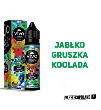 Premix VIVO V.S. Double - Apple/Pear/Koolada 50ML VIVO Vape Selection to premixy premium znanej marki liquidów. Najwyższej jako