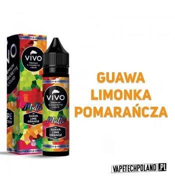 Premix VIVO V.S. Multi - Guava/Lime/Orange 50ML VIVO Vape Selection to premixy premium znanej marki liquidów. Najwyższej jakośc