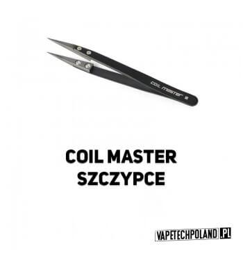 Coil Master - Szczypce Ceramiczne Ceramiczne, nieprzewodzące prądu szczypce. Idealnie nadają się do ściskania drutu oporowego,