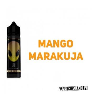 Premix UFO - Yellow-Bronze 40ML UFO to Premixy do e-papierosów o pojemności 40ml w butelce 60ml typu gorilla. Aromaty:mango, m