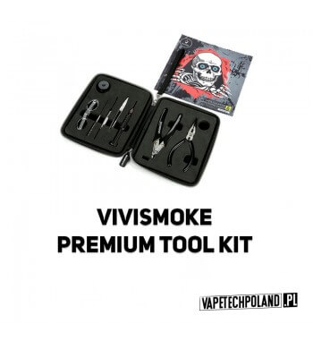 Zestaw - VIVI Premium Vape Tool Kit Zestaw narzędzi VIVI dla majsterkowiczów. Wyposażony jest w najbardziej funkcjonalne narzęd