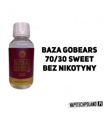 BAZA GO BEARS SWEET 100ML - 70VG/30PG 0MG BAZA BEZNIKOTYNOWA GO BEARS SWEET 100ML - 70VG/30PG 0MG 2
