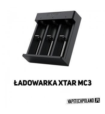 Ładowarka trzykanałowa - XTAR MC3 Profesjonalna, kompaktowa ładowarka procesorowaXTAR MC3 do akumulatorów w rozmiarach 18650 i