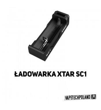 Ładowarka jednokanałowa - XTAR SC1 Profesjonalna, kompaktowa szybka ładowarka procesorowaXtar SC1do akumulatorów Li-ion w rozmi