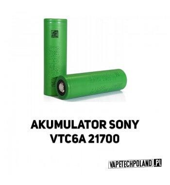 Akumulator Sony VTC6A 21700 4000MAH ORYGINALNY akumulator 21700 Li-ion Sony VTC6A, pojemność 4000mAh. 2