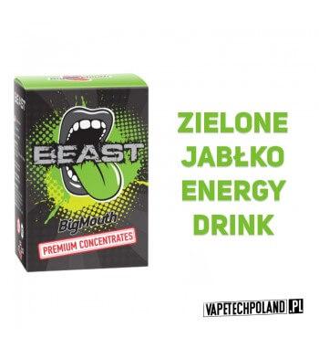 Aromat BIG MOUTH - BEAST 10 ml Aromat Big Mouth o smaku zielonego jabłka i energy drink. 2