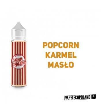 Premix PopDeez - Steep Pop Deez Premix o smaku karmelowego popcornu. 50ml płynu w butelce o pojemności 60ml.Produkt Shake and