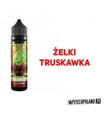Premix EEE BAH GUM - Strawberry Gummies 50ml Żelki o smaku kandyzowanej truskawki 2