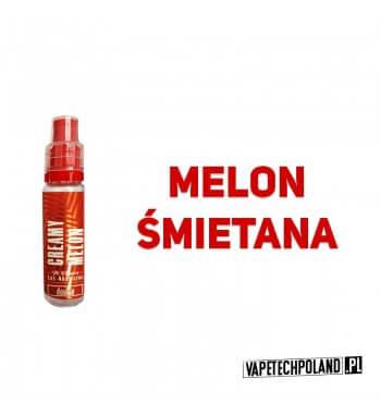 Aromat LOS AROMATOS DOUBLE 15ML - Creamy Melon Aromat o smaku melona i śmietanki. Butelka posiada plombę zabezpieczającą oraz d