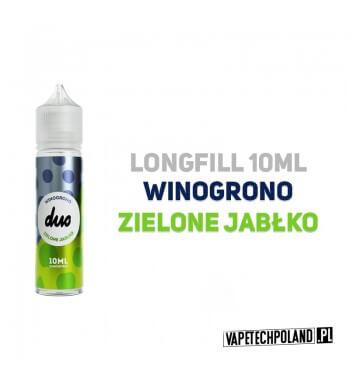 Premix/Longfill DUO - Winogrono & Zielone Jabłko 10ml Longfill jest to nowy produkt na rynku EIN. Charakteryzuje się małą zawar