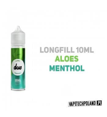 Premix/Longfill DUO - Aloes & Menthol 10ml Longfill jest to nowy produkt na rynku EIN. Charakteryzuje się małą zawartością płyn