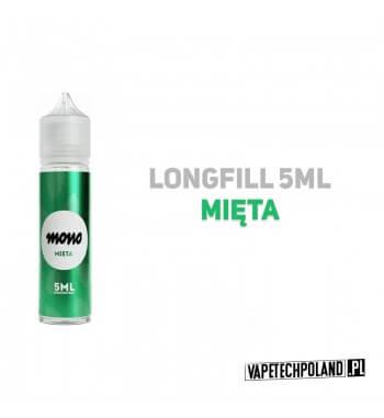 Premix/Longfill MONO - Mięta 5ml Longfill jest to nowy produkt na rynku EIN. Charakteryzuje się małą zawartością płynu w środku