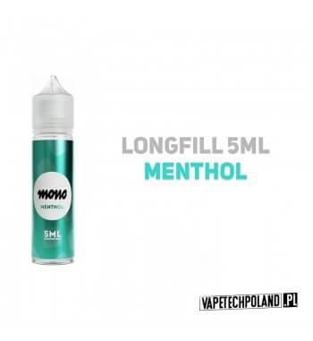 Premix/Longfill MONO - Menthol 5ml Longfill jest to nowy produkt na rynku EIN. Charakteryzuje się małą zawartością płynu w środ