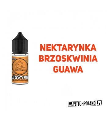 Premix BIG SHOT - SWYPE 20ML Połączenie nektarynki, brzoskwini i guawy! 20ml płynu w butelce o pojemności 30ml. Produkt Shake a