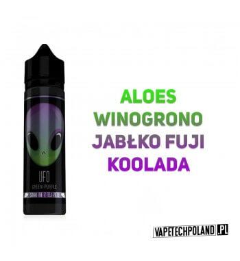 Premix UFO - Green-Purple 40ML UFO to Premixy do e-papierosów o pojemności 40ml w butelce 60ml typu gorilla. Aromaty: aloes, wi
