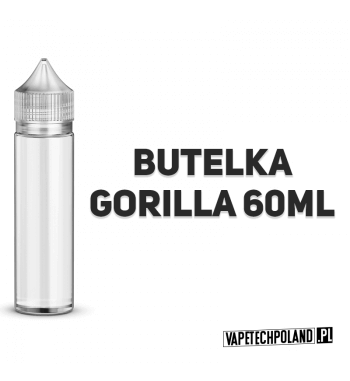 BUTELKA GORILLA - 60ML Plastikowa butelka GORILLA o pojemności 60ML. 2