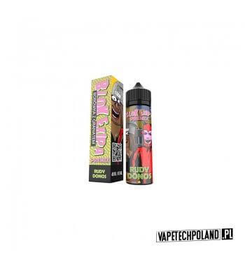 Premix Blok Ekipa - Rudy Donos 40ml Smak: borówka, granatZawartość: Butelka 60 ml zawiera 40 ml płynu, do którego wystarczy d